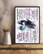 TO MY WIFE - DRAGON - I LOVE YOU 16x24 Poster lifestyle-poster-3