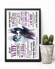TO MY WIFE - DRAGON - I LOVE YOU 16x24 Poster lifestyle-poster-8