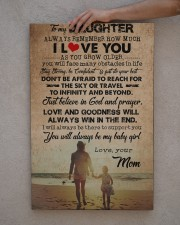 To Daughter - Always Remember How Much - Canvas  20x30 Gallery Wrapped Canvas Prints aos-canvas-pgw-20x30-lifestyle-front-29