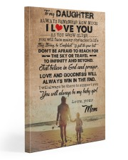 To Daughter - Always Remember How Much - Canvas  20x30 Gallery Wrapped Canvas Prints front