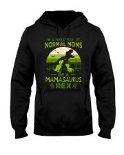 IN A WORLD - T REX MOM - MAMASAURUS Hooded Sweatshirt thumbnail