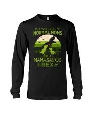 IN A WORLD - T REX MOM - MAMASAURUS Long Sleeve Tee thumbnail