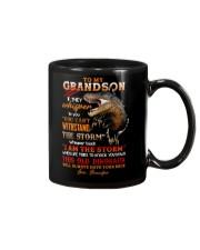 Grandpa to Grandson - This Old Dinosaur  Mug front