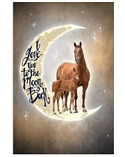 TO DAUGHTER - ANIMAL - I LOVE YOU TO THE MOON 16x24 Poster front