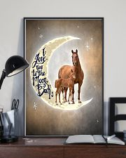 TO DAUGHTER - ANIMAL - I LOVE YOU TO THE MOON 16x24 Poster lifestyle-poster-2