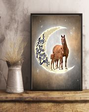 TO DAUGHTER - ANIMAL - I LOVE YOU TO THE MOON 16x24 Poster lifestyle-poster-3