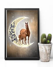 TO DAUGHTER - ANIMAL - I LOVE YOU TO THE MOON 16x24 Poster lifestyle-poster-8