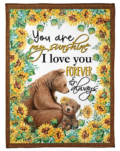 TO MY DAUGHTER - SUNFLOWER BEAR - FOREVER