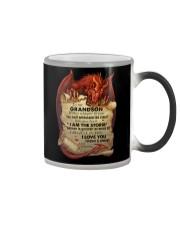 Grandma to Grandson - I Am The Storm - Mug Color Changing Mug tile