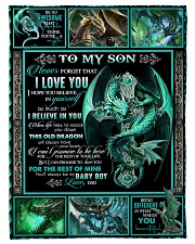 "Dragon - Son - This Old Dragon Will Always Have  Small Fleece Blanket - 30"" x 40"" front"