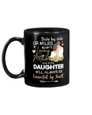 MOTHER AND DAUGHTER - SUNFLOWER - SIDE BY SIDE Mug back