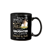 MOTHER AND DAUGHTER - SUNFLOWER - SIDE BY SIDE Mug front