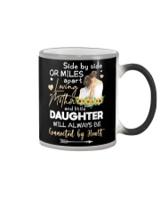 MOTHER AND DAUGHTER - SUNFLOWER - SIDE BY SIDE Color Changing Mug thumbnail