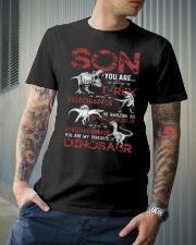 PARENTS TO KIDS - DINOS - FAVORITE Classic T-Shirt lifestyle-mens-crewneck-front-6