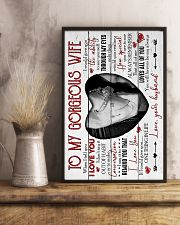 To my Wife - When I Tell You I Love You - Poster 16x24 Poster lifestyle-poster-3