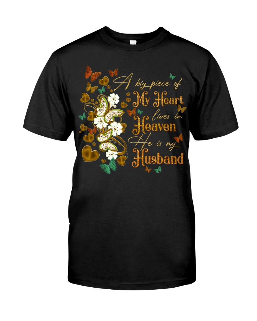 ANGEL HUSBAND - A BIG PIECE OF MY HEART Classic T-Shirt