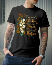 ANGEL HUSBAND - A BIG PIECE OF MY HEART Classic T-Shirt lifestyle-mens-crewneck-front-6