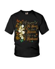 ANGEL HUSBAND - A BIG PIECE OF MY HEART Youth T-Shirt thumbnail