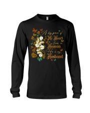 ANGEL HUSBAND - A BIG PIECE OF MY HEART Long Sleeve Tee thumbnail