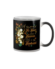 ANGEL HUSBAND - A BIG PIECE OF MY HEART Color Changing Mug thumbnail