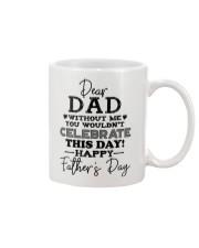 MUG - TO MY DAD - FATHER'S DAY Mug front