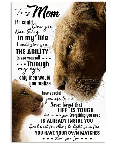 TO MY MOM - LION - IF I COULD