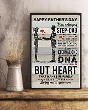 POSTER - TO MY BONUS DAD - VINTAGE 16x24 Poster lifestyle-poster-3