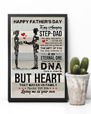 POSTER - TO MY BONUS DAD - VINTAGE 16x24 Poster lifestyle-poster-8