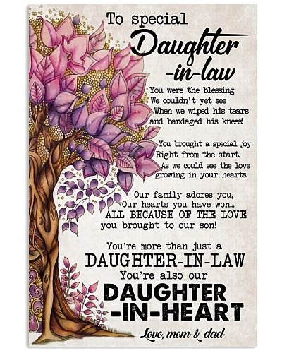TO SPECIAL DAUGHTER-IN-LAW - FAMILY TREE - WE LOVE