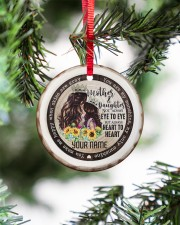 To My Mom - You are My Sunshine Circle ornament - single (porcelain) aos-circle-ornament-single-porcelain-lifestyles-07