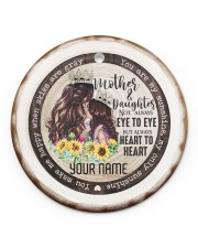 To My Mom - You are My Sunshine Circle ornament - single (porcelain) front