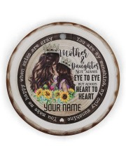 To My Mom - You are My Sunshine Circle Ornament (Wood tile