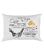 TO MY WIFE Rectangular Pillowcase back