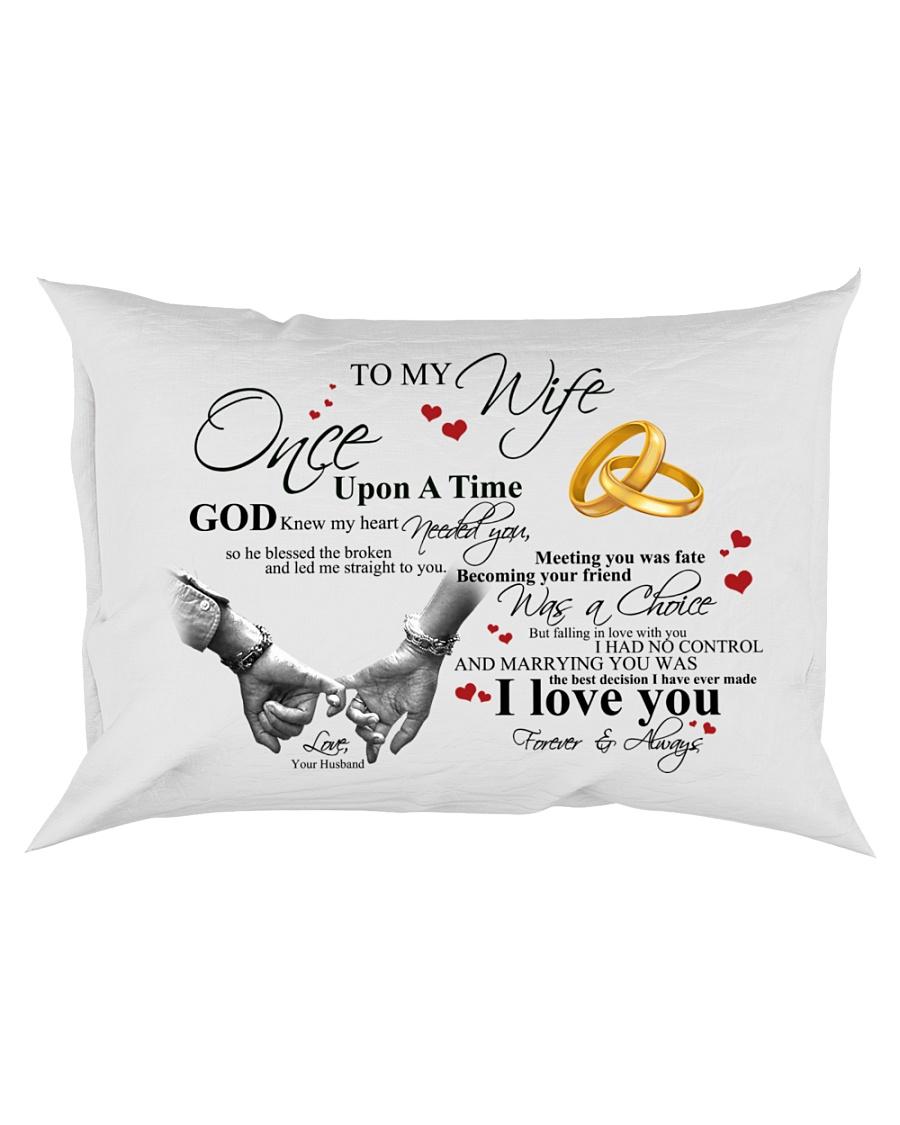 TO MY WIFE Rectangular Pillowcase