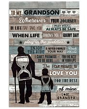 Grandpa to Grandson - Enjoy The Ride - Poster 16x24 Poster front