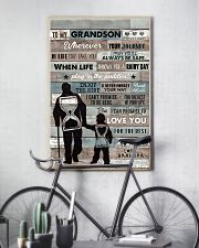 Grandpa to Grandson - Enjoy The Ride - Poster 16x24 Poster lifestyle-poster-7