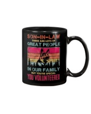 SON-IN-LAW - GERMAN SHEPHERD - YOU VOLUNTEERED Mug thumbnail