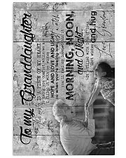 To Granddaughter - It's Filled With Lots Of Love 16x24 Poster front