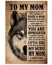POSTER - TO MY MOM - I LOVE YOU 16x24 Poster front