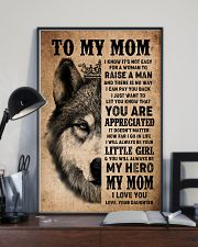 POSTER - TO MY MOM - I LOVE YOU 16x24 Poster lifestyle-poster-2