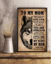POSTER - TO MY MOM - I LOVE YOU 16x24 Poster lifestyle-poster-3
