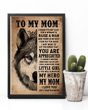 POSTER - TO MY MOM - I LOVE YOU 16x24 Poster lifestyle-poster-8