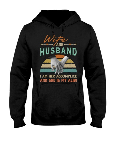 WIFE AND HUSBAND - HAND IN HAND - I LOVE YOU