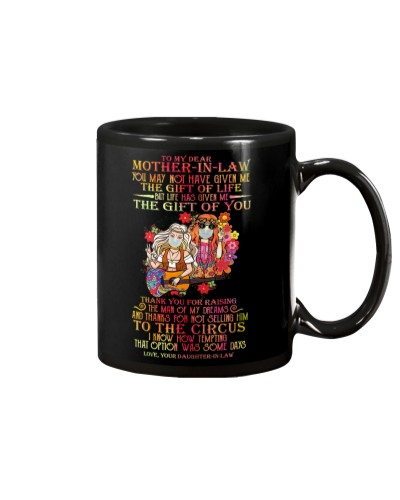 MUG - TO MY MOTHER-IN-LAW - HIPPIE - THANK YOU