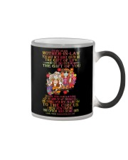 MUG - TO MY MOTHER-IN-LAW - HIPPIE - THANK YOU Color Changing Mug thumbnail