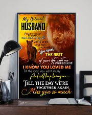 MY ANGEL HUSBAND - LION - MISS YOU 16x24 Poster lifestyle-poster-2