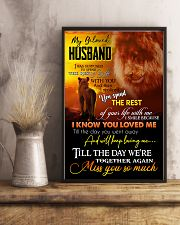 MY ANGEL HUSBAND - LION - MISS YOU 16x24 Poster lifestyle-poster-3