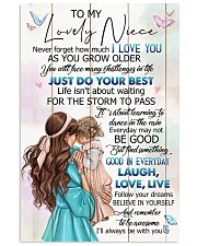 TO MY NIECE - GIRLS - I LOVE YOU 16x24 Poster front
