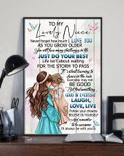 TO MY NIECE - GIRLS - I LOVE YOU 16x24 Poster lifestyle-poster-2