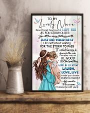 TO MY NIECE - GIRLS - I LOVE YOU 16x24 Poster lifestyle-poster-3